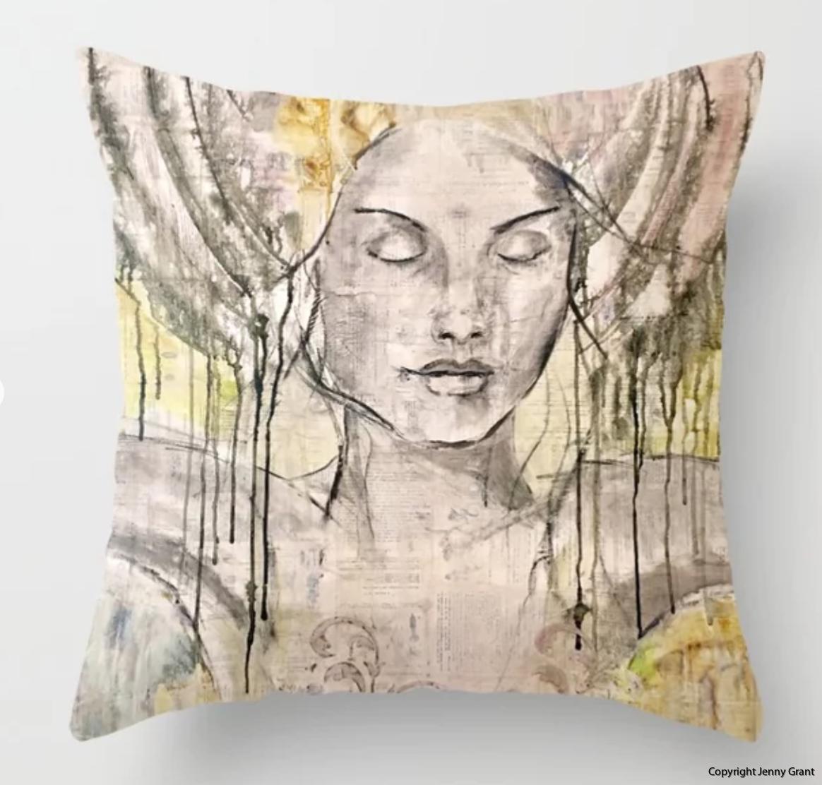 Stillness Pillow Case Jenny Grant