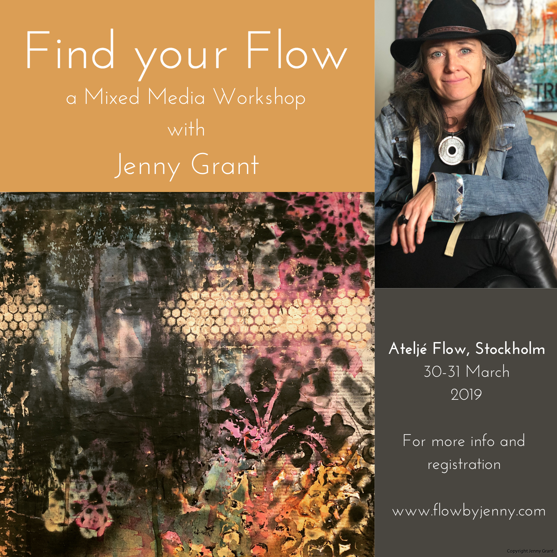 Find your Flow Ateljé Flow March 2019