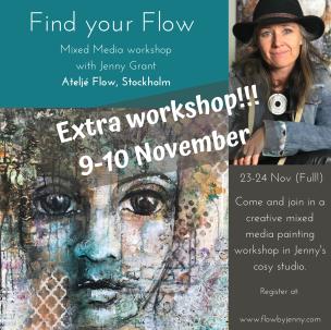 Find your Flow,  9-10 November - Find your Flow (no art supply)