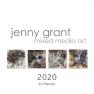 Calendar / Art Planner - Calendar 2020 (English)