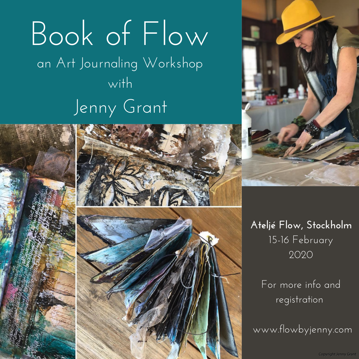 Book of Flow Stockholm Jenny Grant
