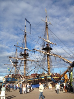 "The East Indiaman ""Götheborg"" on tour"
