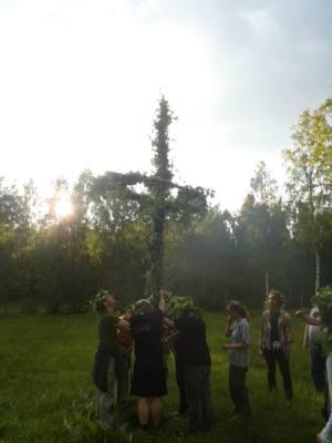 Solståndsfirande med Forn Sed Södermanland 2013