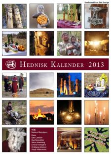 Hednisk kalender 2013