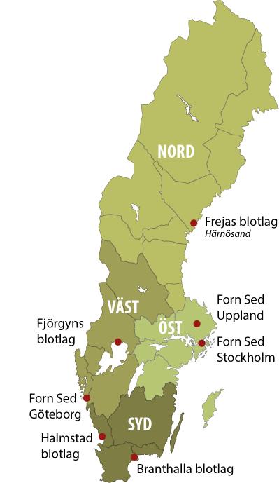 Godeord i hela Sverige