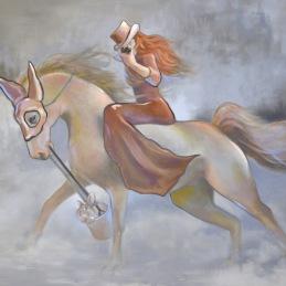 """""""Got Ya!"""", Oil on canvas, 90x125cm"""