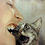 """""""Iiiii"""", oil on canvas, 75x95 cm, Oil on canvas,SOLD"""