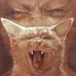 """Blaaah..."" 115x135cm , Oil on canvas, SOLD"