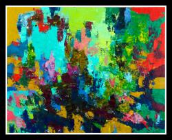 Regeneration, 2010, oil on canvas, 122 x 152 cm (Sold)