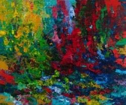 Tapas (Heat), 2010, oil on canvas, 152 x 183 cm