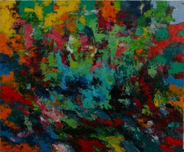 It All Changes, 2012, oil on canvas, 152 x 183cm (Sold)