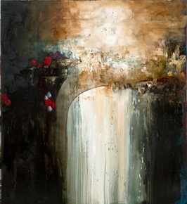 Vanity and Its Double, 2013, oil on linen, 152x137 cm (sold)
