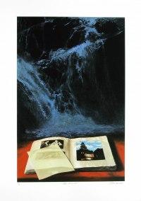 Petite chronique, 2002, serigraphy, 69 x 46 cm