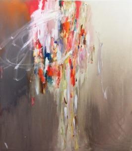Waterfall, 2013, acrylic on canvas, 153 x 137 cm