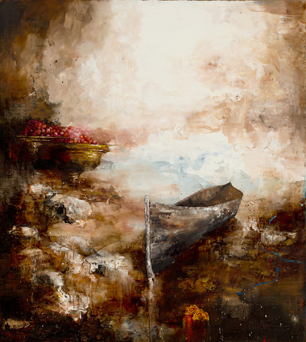 Looking For Rainmakers, 2014, oil on linen, 152x137 cm