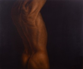 Torse D'Homme, 2010 oil on canvas, 120 x 100 cm