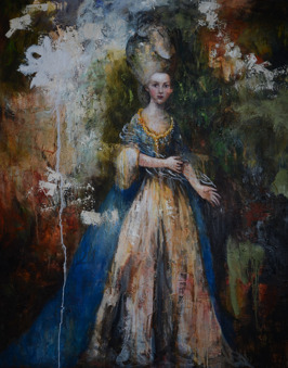 Trust in Love - After Gainsborough, oil on canvas, 152 x 122 cm, 2015
