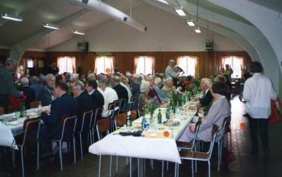 Ytterligare en bild  från 1998 som visar det stora deltagareantalet ca. 130 st