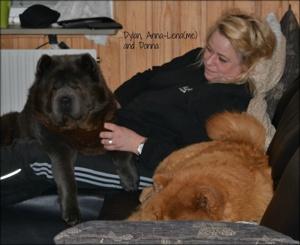Dylan, Anna-Lena (jag) och Donna