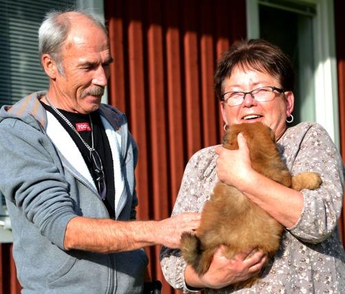 Björn och Barbro har varit och hälsat på sin nya familjemedlen - Commitment's The Final Countdown,