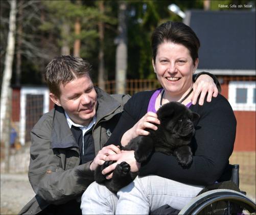 Robban, Sofia och lilla Nelson - Commitment's Black Shine