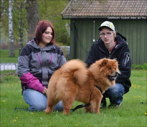 Commitment's Elizabeth Arden - Disa med matte Anna-Maria och pojkvän.