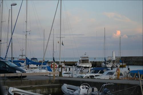 Lilla båthamnen vid Ålabodarna