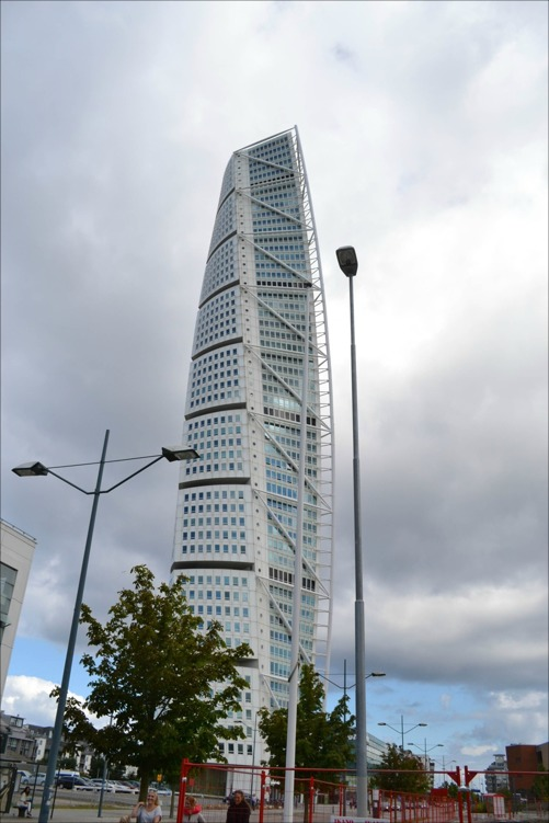 """Turning Torso"" i Malmö"
