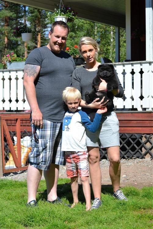 Emma har flyttat till familjen Krogstad i Norge - Vennaskogens kennel