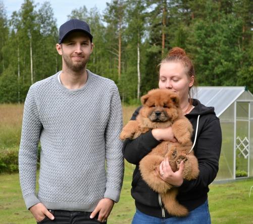 Commitment's Screwdriver aka Bosse har flyttat med Jocke och Ines upp till Norrland.