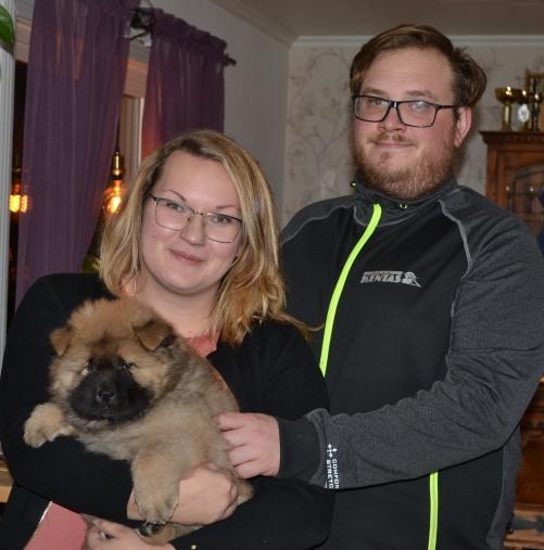 Harry flyttade till Fjugesta med Amanda och familj. Lycka Till!