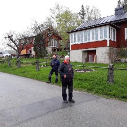 Inger och Mattias Mångårig resp ettårig funktionär