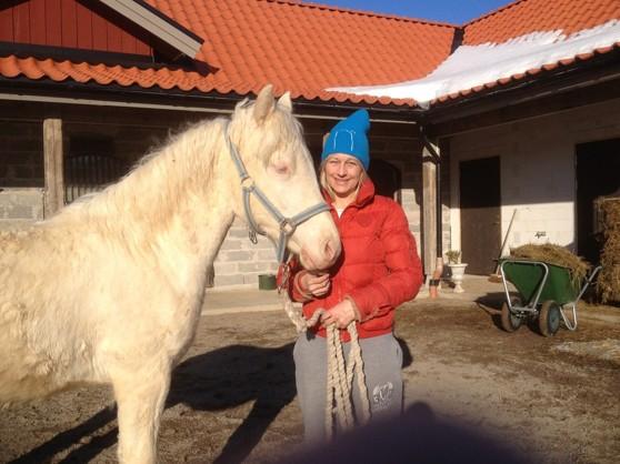 Jag och Ice Man. Snygg mössa va ! Det är jag och Stenmark:)