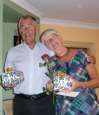 Anna-Lena och Bengt har precis avtackats.