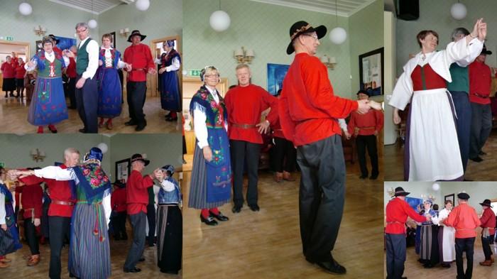 Dansuppvisning på ABF:s kulturcafé 2010