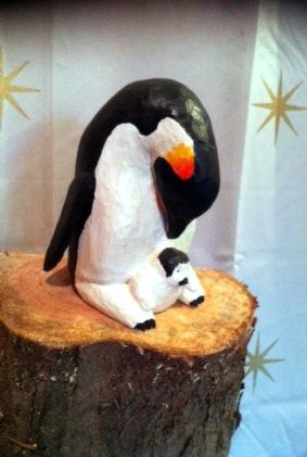 Pingvin med barn