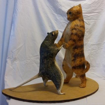 Dansa med katten.