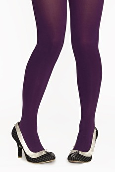 Margot tights puple, lila - One size