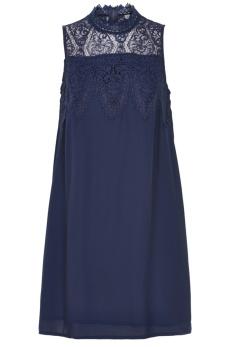 REA Culture Remus klänning marinblå - Strl L
