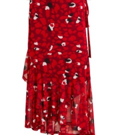 Object Marianna omlottkjol, röd