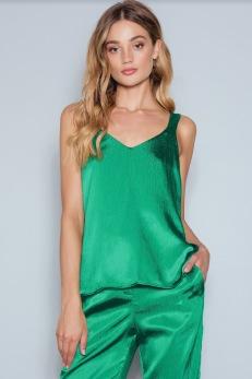 REA Rut&Circle grön topp - Strl S