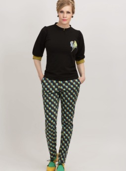 REA Margot Birdkiss pants - Strl M