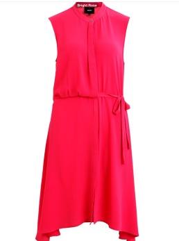 REA Object Hastings klänning cerise - Strl 34