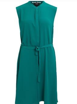 Object Hastings klänning grön - Strl 34