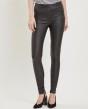 Object Belle svarta coated leggings - Strl 38