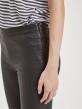 Object Belle svarta coated leggings