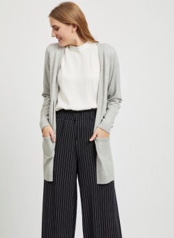 Object Thess cardigan grå - Strl XS