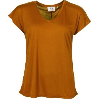 Isay Nugga T-shirt dark mustard - Strl XS