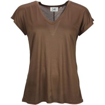 Isay Nugga T-shirt dark taupe - Strl XS