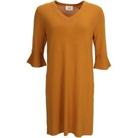 Isay Nimo dress senapsgul